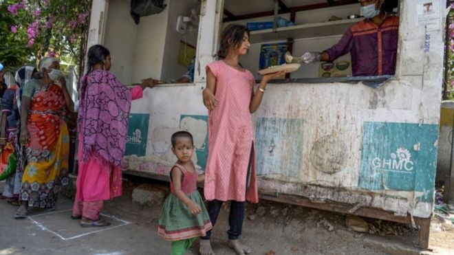 India coronavirus: $22bn bailout announced for the poor
