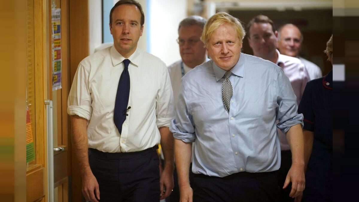 UK PM Boris Johnson and health minister Hancock both have coronavirus