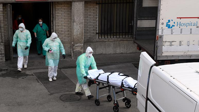 Coronavirus: Spain extends state of emergency as death toll passes China
