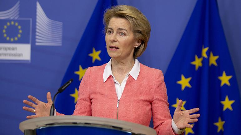 Coronavirus: 'Europe is in a fight for its life' says Ursula von der Leyen