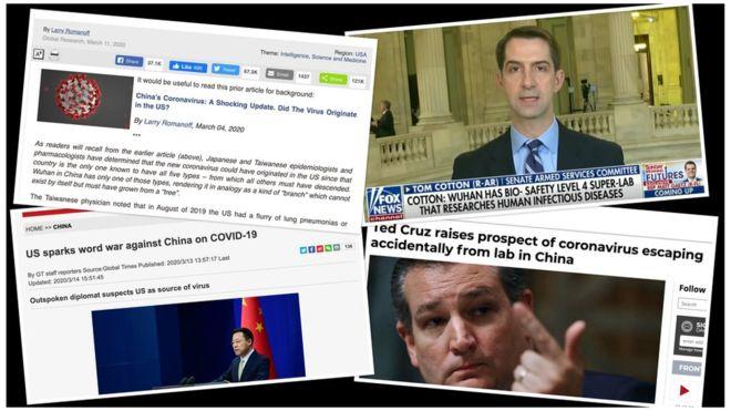 Coronavirus: US and China trade conspiracy theories