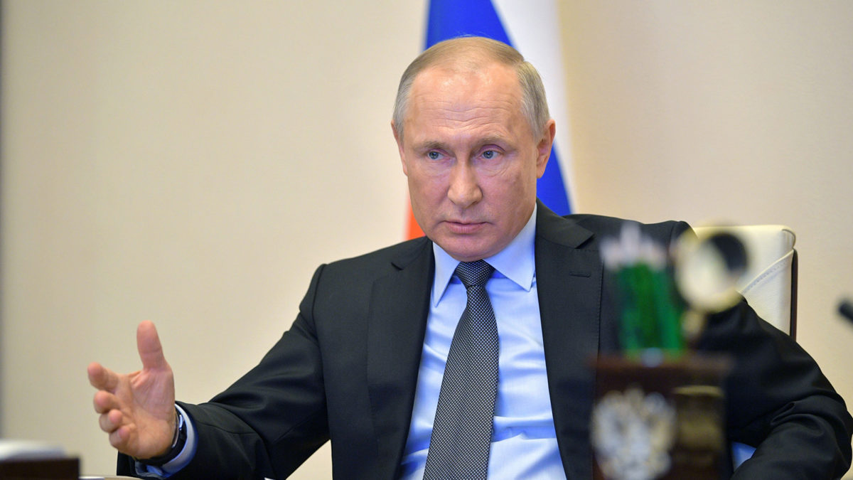 """Russia will """"face a new and grueling phase of the pandemic,"""" Putin says"""