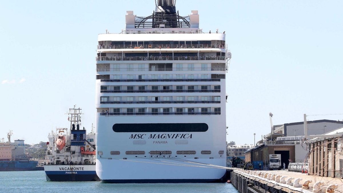 One of the last cruise ships at sea during the coronavirus outbreak has docked in a French port
