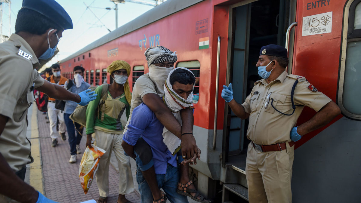 After criticism, Indian government to cover most train fare for stranded workers