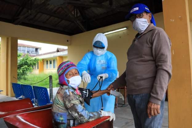 Peru sees surge in virus cases