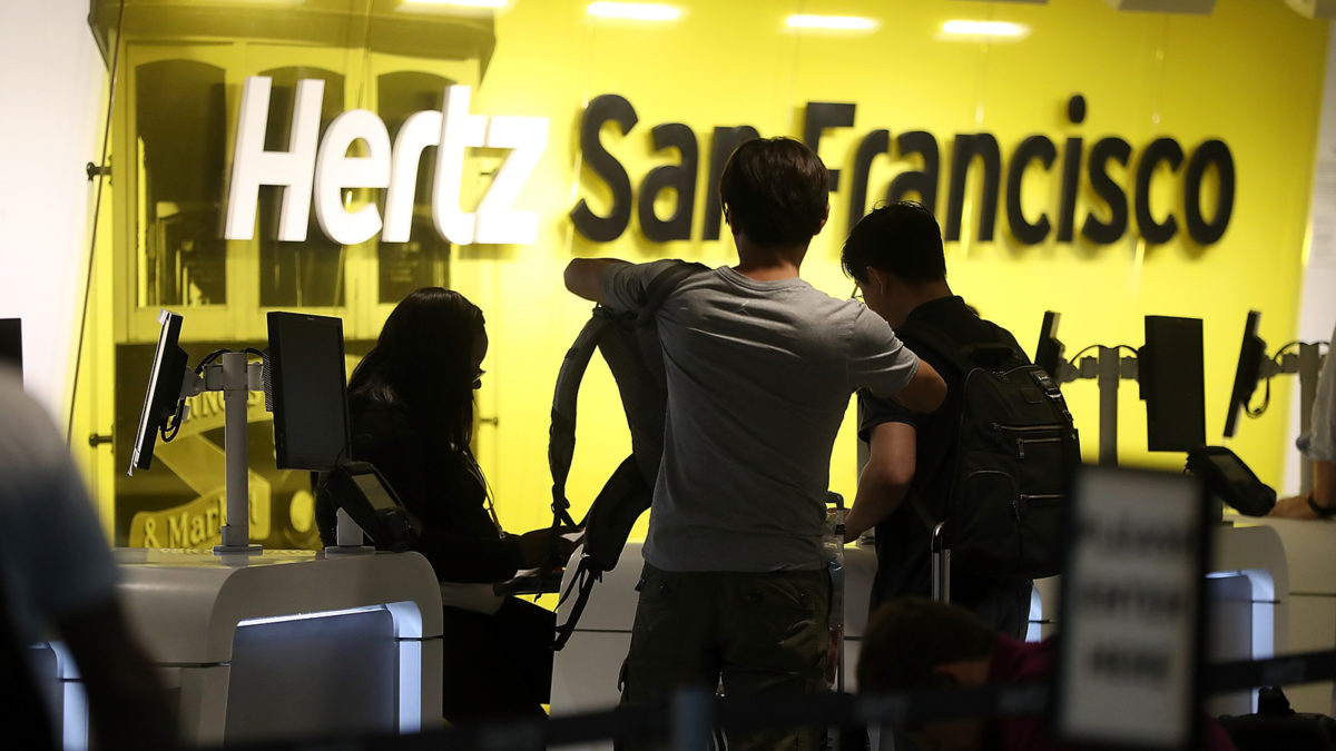 Car rental company Hertz files for bankruptcy