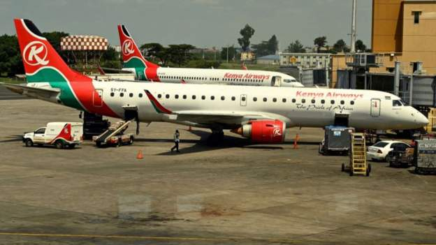 Kenya returnees arrive from UK
