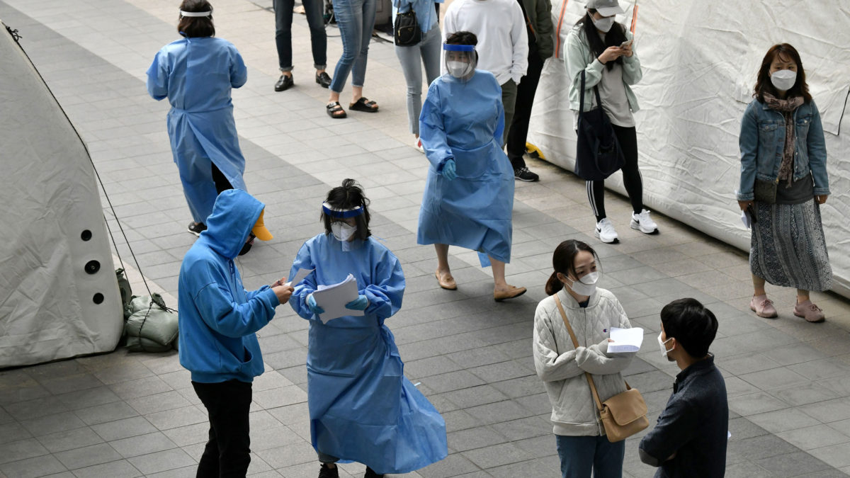 It's just past 7:30 a.m. in Moscow and 1:30 p.m. in Seoul. Here's the latest on the pandemic