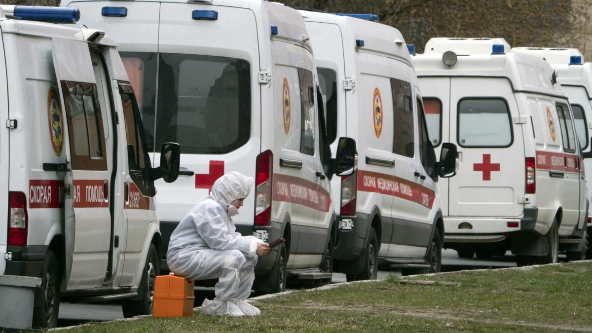 Russia saw nearly 8,000 new cases in 24 hours