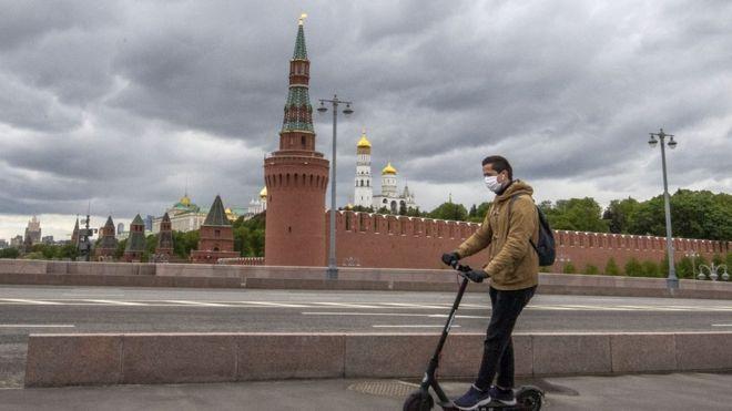 Coronavirus: Lockdown eased in Moscow after nine weeks