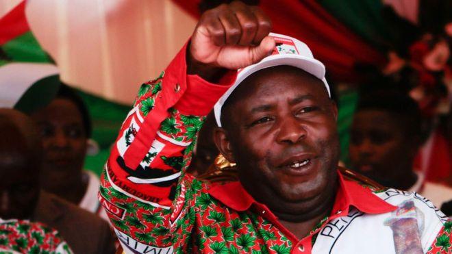Burundi's Evariste Ndayishimiye is sworn in as president