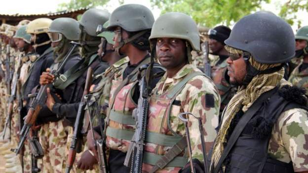 Nigeria army base 'attack leaves six soldiers dead'