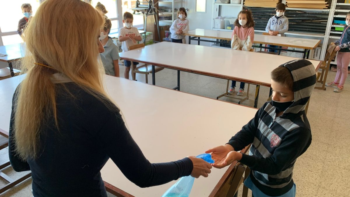Spain tests out Covid-19 precautions for schools reopening in September