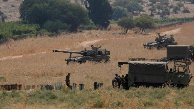 Israel 'thwarts Hezbollah infiltration from Lebanon'
