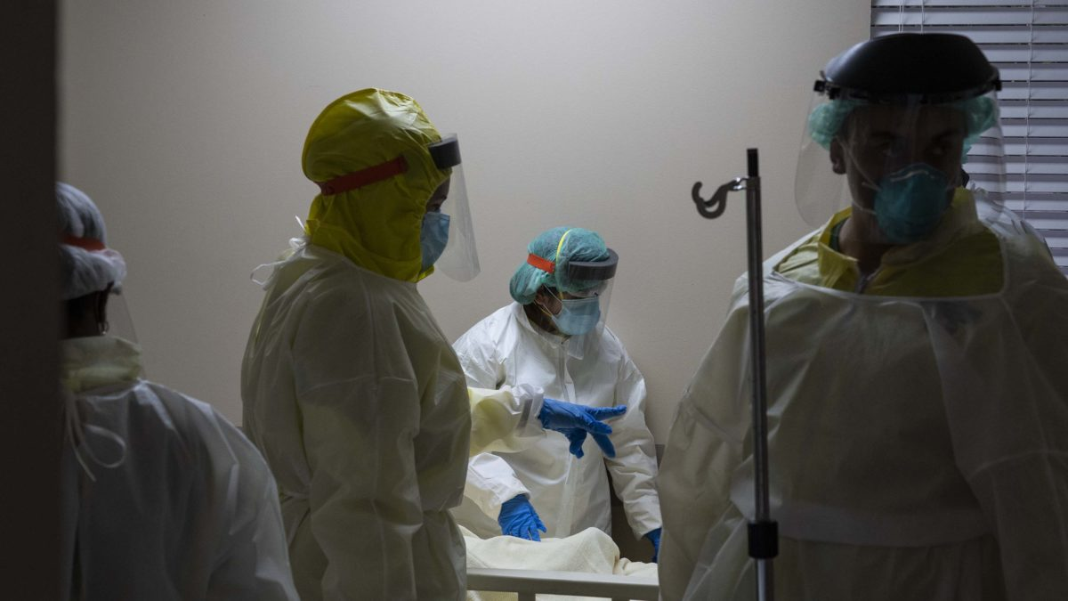 It's 8 a.m. in New York and 1 p.m. in London. Here's the latest on the pandemic.