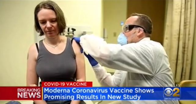 COVID-19 vaccine yields promising results