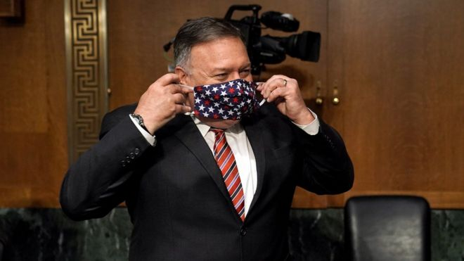 TikTok: Pompeo says Trump to crack down on Chinese software in coming days