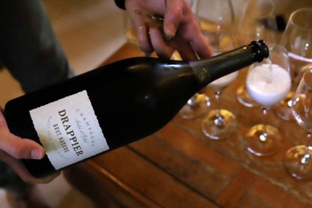 France's champagne industry goes flat