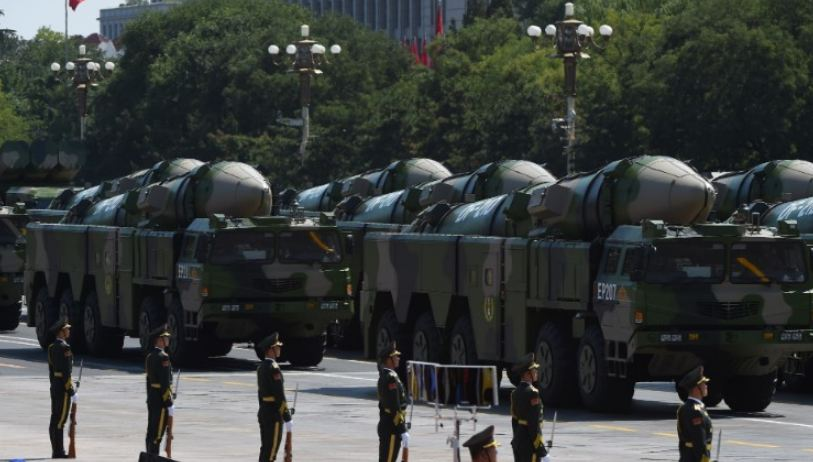 China test fires so-called 'carrier killer' missiles into South China Sea