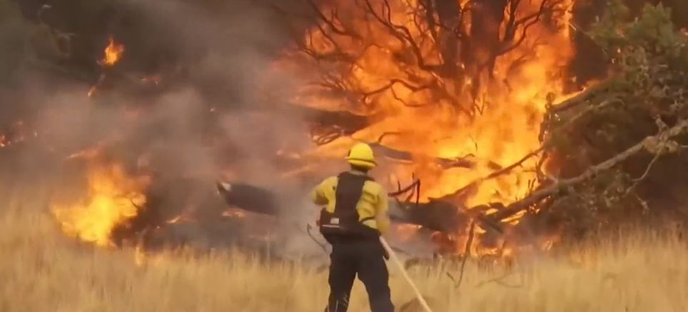 Wildfire north of Sacramento is now the largest in California history
