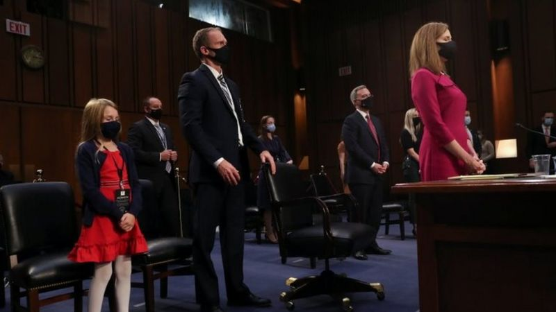 Amy Coney Barrett: Trump Supreme Court nominee faces questions
