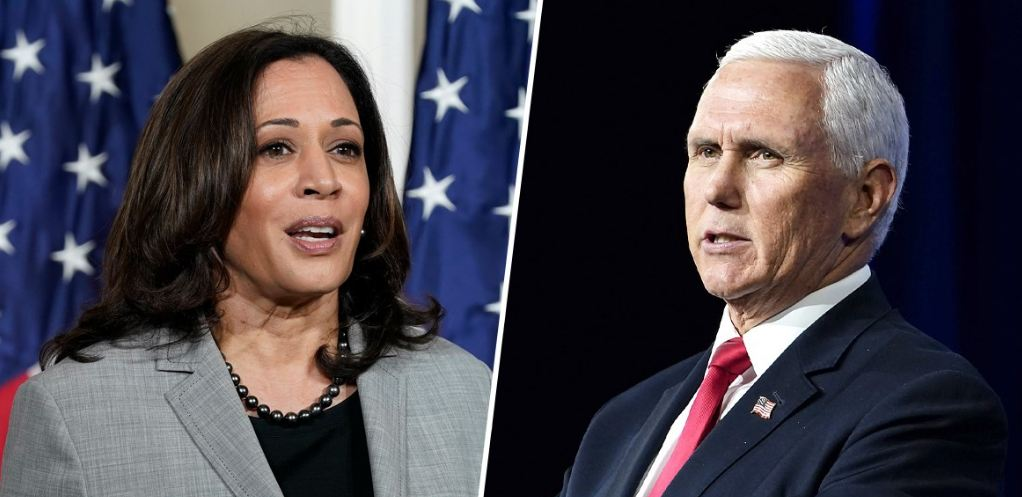 Pence and Harris prep for a debate with suddenly higher stakes