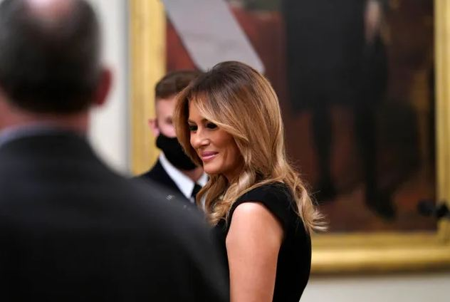 Melania Trump says she will stay in White House