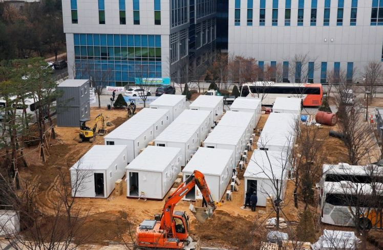 South Korea logs record 1,030 cases amid 'COVID-19 emergency'