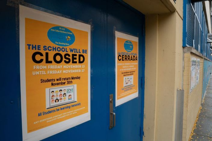 Multiple COVID-19 cases close 272 NYC school buildings on eve of winter break