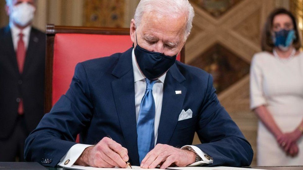 Biden to sign 10 executive orders to tackle Covid