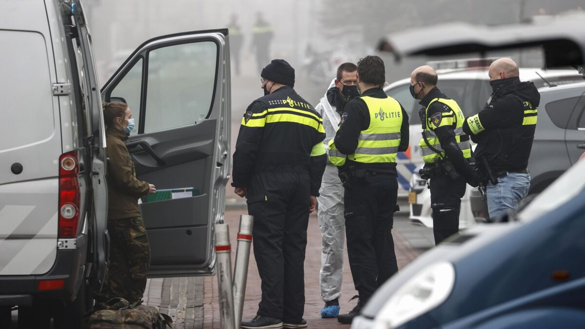 Explosion reported near Covid-19 test center in the Netherlands