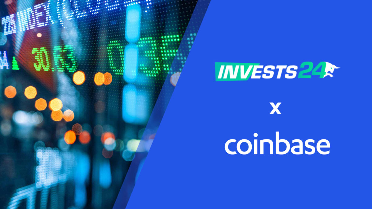 Invests24 Partner With Cryptocurrency Exchange Platform Coinbase